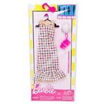 Roupa Barbie FAB Look Fashion Vestido Pedras Preciosas FCT22 - Mattel