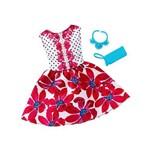 Roupa Barbie Fab Look Vestido Floral Fct22 - Mattel