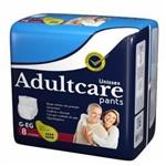 Roupa Intima Unissex Adultcare Pants G/EG de 8 Unidades - Incofral