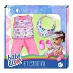 Roupa para Boneca - Kit Esportivo - Baby Alive – Laço de Fita