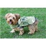 Roupinha para Cães Fashion Macho Militar Tamanho G - Meemo