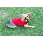 Roupinha para Cães Meemo Fashion Macho Vermelha