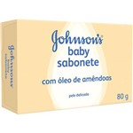 Sab Inf Johnson Baby 80g-cx Ol Amendoa