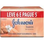 Sab Johnson 90g 6un / Pg5un Oleo Amendoas
