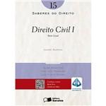 Saberes do Direito 15 - Direito Civil I - Parte Geral 1ª Ed
