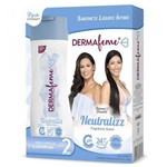 Sabonete Líquido Íntimo Dermafeme Neutralizz Kit com 2 Frascos de 200ml Cada - Cimed