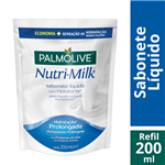 Sabonete Líquido Palmolive Nutri-Milk Refil 200ml