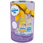 Sabonete Líquido Turma da Xuxinha Sem Corante 210ml+shampoo Turma da Xuxinha Suave 210ml + Creme de Assadura Turma da Xuxinha 45g + Sabonete Turma da