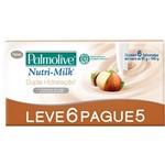 Sabonete Palmolive Nutrimilk Dupla Hidratação Leve 6 Pague 5 90G