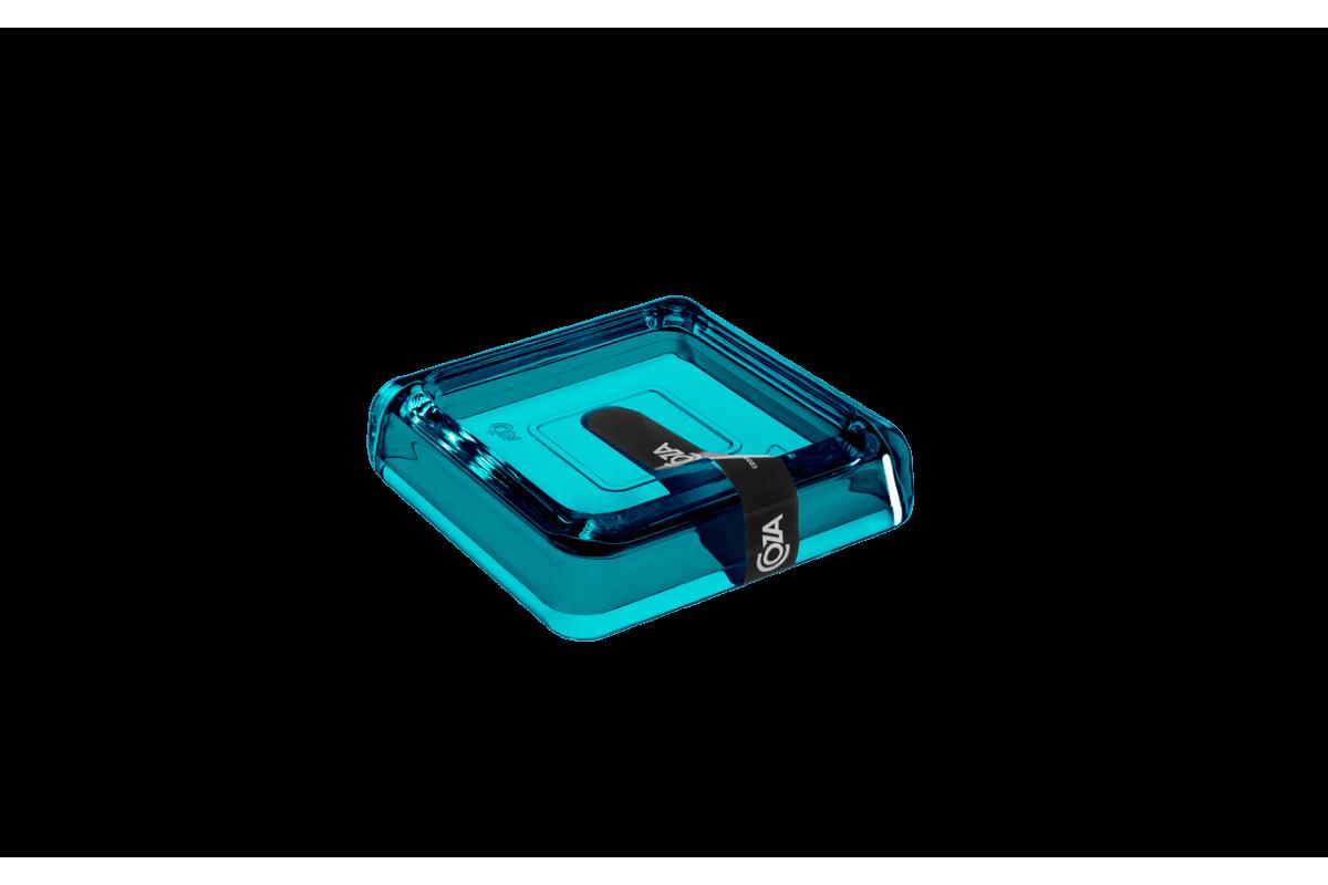 Saboneteira - Cube 10 X 10 X 2,5 Cm Verde Coza