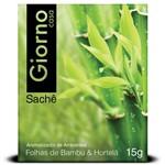 Sachê Envelope Aromatizador Giorno Folhas de Bambu e Hortelã