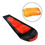Saco de Dormir Térmico Até -5°c Echolife Cocoon com Travesseiro Inflável Azteq Looper
