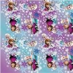 Saco P/Presente Frozen Disney 89X120Cm C/ 25