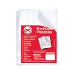 Saco Plastico Dac Médio C/ 4 Furos A3 050 Plast Cristal 5324