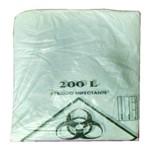 Saco Plástico Tipo Único Infectante 200 Litros Leiraw