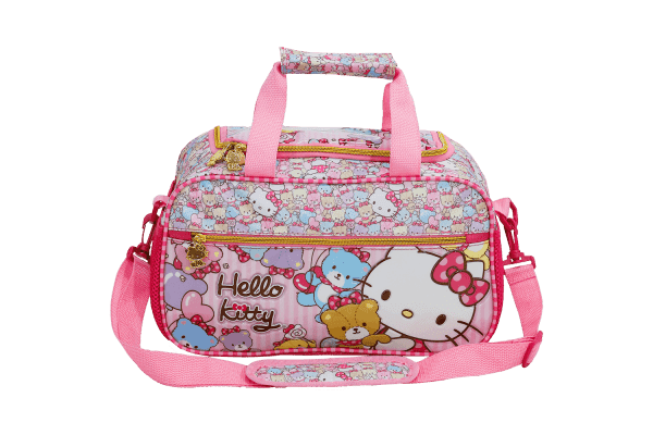 Sacola Infantil Hello Kitty Tiny Bears 7867