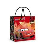 Sacola P/Presente Carros Disney Vermelho 14X13Cm C/10