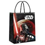 Sacola P/presente Darth Vader e Yoda Dc Preto 21,5x15cm C/10