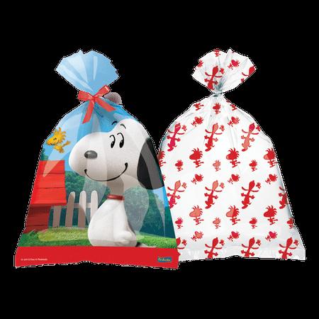 Sacola Surpresa Plástica Snoopy