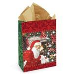Sacolete Tempo de Natal 10,5x14,5cm C/10- Cromus