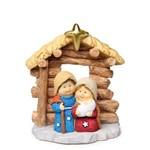 Sagrada Família Decoração Natal em Resina 7cm