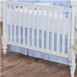 Saia de Berço Linha Conrado - Azul Batistela Baby