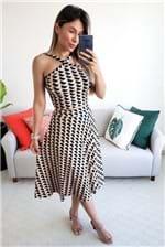 Saia Midi Dress To Estampa Geo