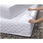 Saia para Cama Box Queen Boulevard Easyfit Altenburg Branco Ultra Wave