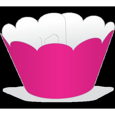 Saia para Cupcake Pink - 12 Unidades
