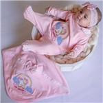 Saída de Maternidade Unicórnio Rosa