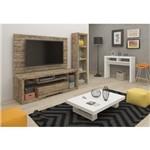 Sala de Estar Completa Artely com Accanto Vision Vegas Spand 5 Peças