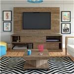 Sala de Estar Completa Artely com 3 Peças Painel Accanto + Rack Itália + Mesa de Centro Saara - Cane