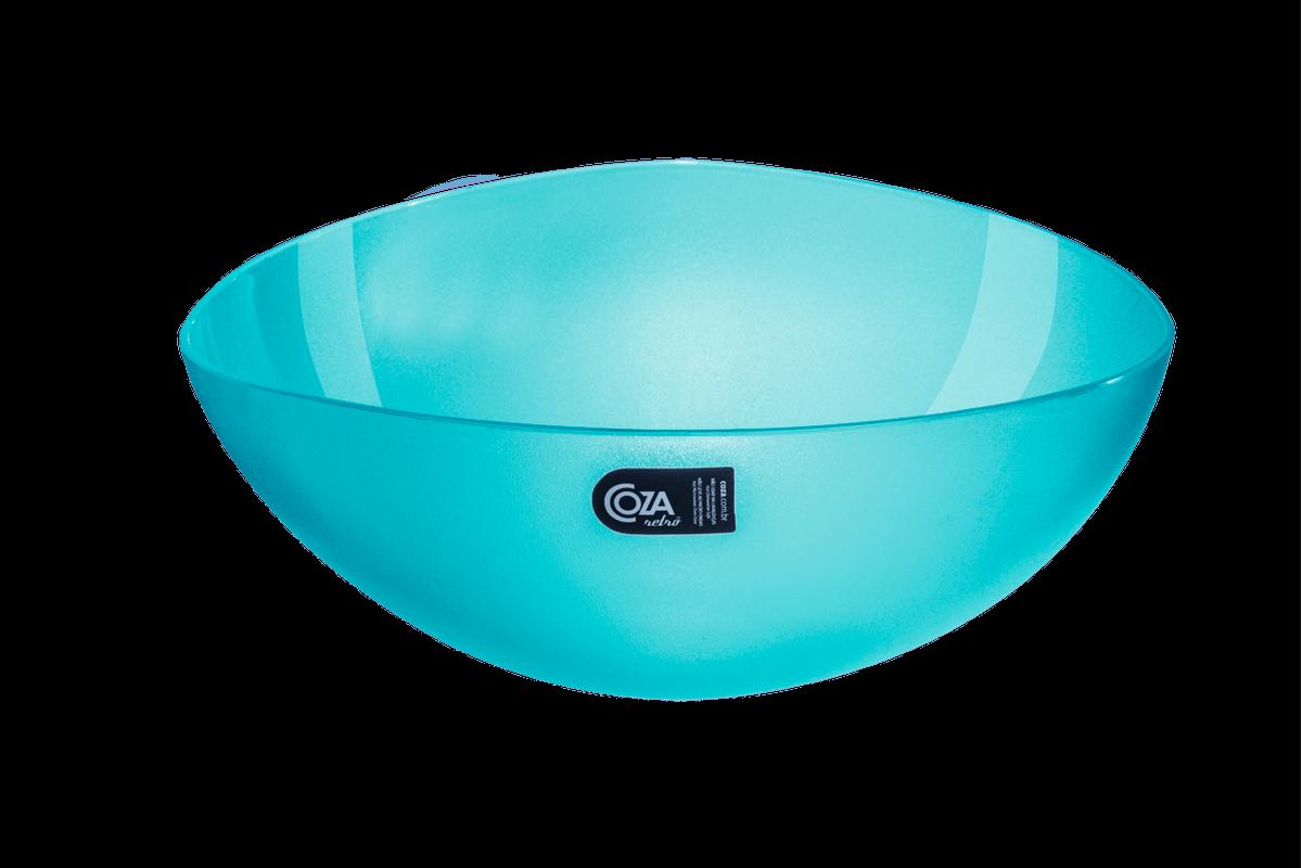 Saladeira Triangular 2,5 L Essential 25 X 25 X 9,2 Cm Verde Coza