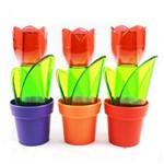 Saleiro Flor Plastico Ref 2205
