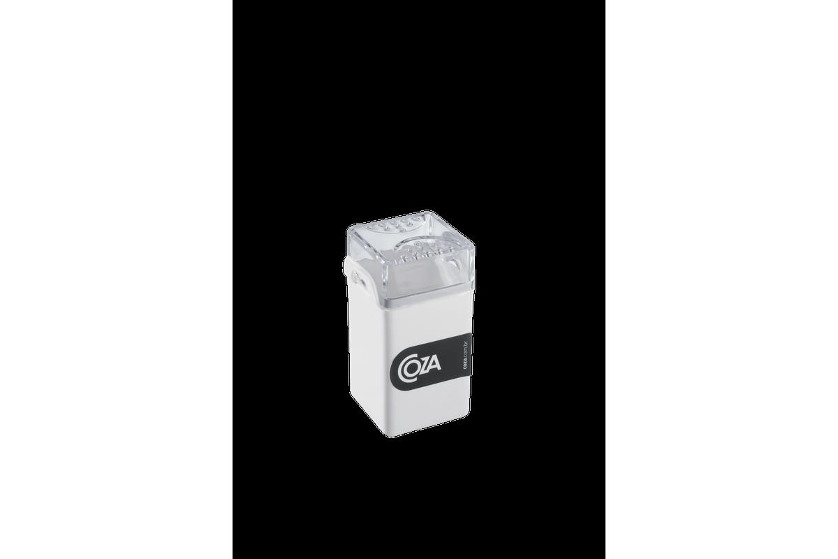 Saleiro / Pimenteiro Casual 5 X 4 X 8 Cm Branco Coza