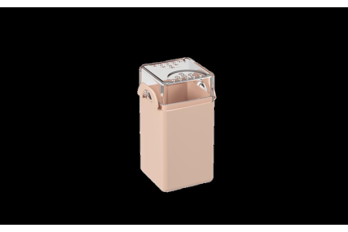 Saleiro/pimenteiro Casual 5 X 4 X 8 Cm Rosa Blush Coza