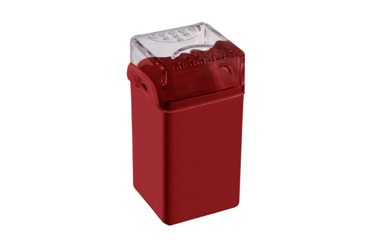 Saleiro/pimenteiro Casual 5 X 4 X 8 Cm Vermelho Bold Coza