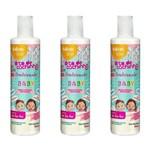 Salon Line Baby Condicionador Infantil Todos Cabelos 300ml (kit C/03)