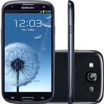 Samsung Galaxy S III I9300 Onyx Black 16GB Android 4.0 - Câmera 8MP 3G Wi Fi GPS