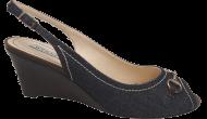 Sandália Anabela Werner 106278 Jeans | Dtalhe Calçados