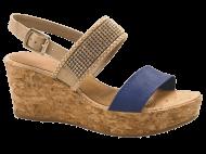 Sandália Dakota S9402 Anabela Cortiça   Dtalhe Calçados