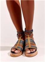 Sandália Especial Mosaico MARROM 39