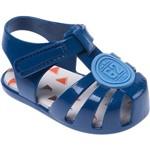 Sandália Infantil Colorê Pimpolho Club 62 Azul 02 a 07 Meses