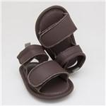 Sandália para Bebê Rafa - Marrom