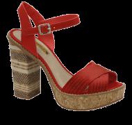 Sandália Plataforma Tanara N7822 | Dtalhe Calçados