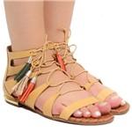 Sandália Rasteira Zariff Shoes Barbicacho T0482 | Betisa