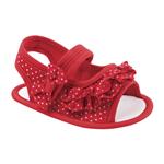 Sandália Vermelha Poá - 3