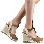 Sandália Zariff Shoes Plataforma Amarração 767030 | Betisa