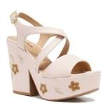 Sandália Zariff Shoes Plataforma Flores 48-51708 | Betisa