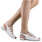 Sandália Zariff Shoes Rasteira Laço Tressê 4590-05 | Betisa